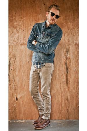 Levis jacket - Dr Martens boots - H&M jeans