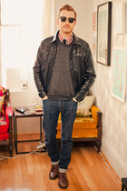 Topman boots - Levis jeans - Charles & Keith and a Half jacket - alternative app