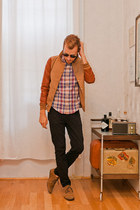 GANT RUgger shirt - slim sole Urban Outfitters shoes - Ray Ban sunglasses