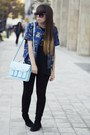 Black-zara-leggings-light-blue-h-m-bag