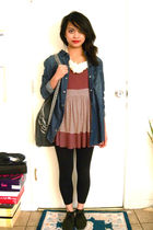 H&M jacket - UO top - f21 leggings - UO shoes - backpack from a stand accessorie