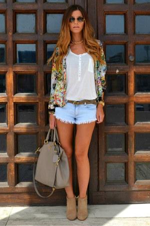Prada purse - Zara jacket