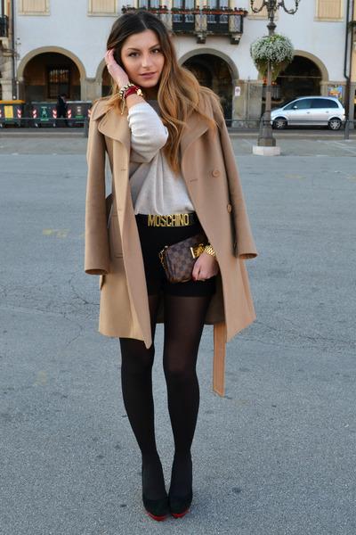 Stefanel coat - Moschino heels