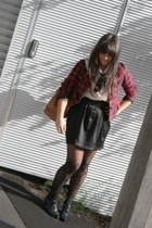 Soup blazer - shirt - skirt - tights - accessories - Payless Shoes shoes