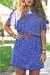 violet floaty vintage dress