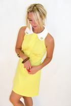 Yellow-vintage-dress