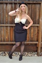 Black-vintage-dress-buy-at-a-hrefhttpwwwlostfeathervintageetsycomlostfeathervi