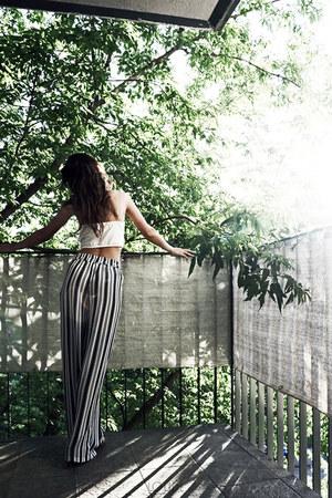 Bershka top - Bershka pants