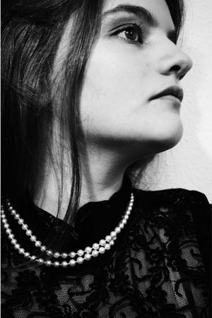 Zara top - emmaeus necklace
