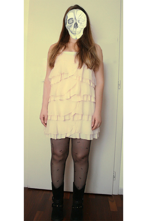 H&M dress -  tights