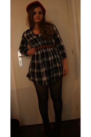 H&M hat - Promod blouse
