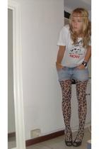 Indian Rose shorts - World of Found shirt - Louboutin shoes