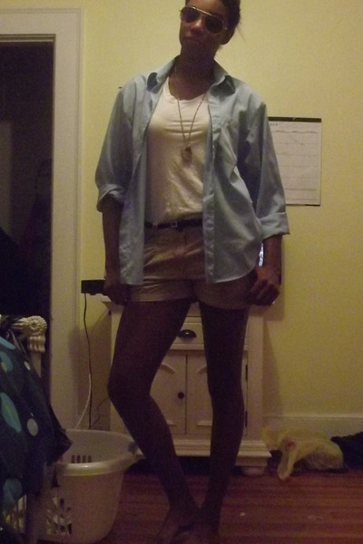 Enrico Rossinni blouse - H&M shirt - H&M shorts