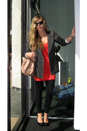Ungaro blazer - Victorias Secret dress - calvin klein shoes