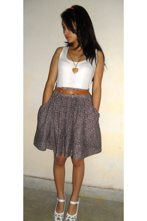 light purple floral skirt lulla skirt