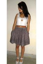 light purple floral skirt lulla skirt