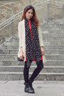 Black-buckled-topshop-boots-red-classic-dorothy-perkins-dress