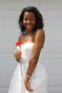 White-adrianna-papell-dress