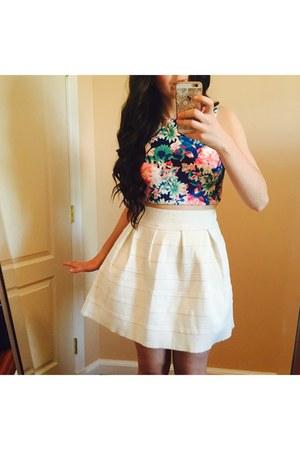 Charlotte Russe top - Nordstrom skirt