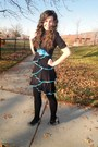 Deb-shops-dress-shrug-cardigan-kohls-cardigan-payless-heels