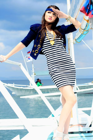 Love Jane Clothing Line accessories - blue Love Jane Clothing Line cardigan - Lo
