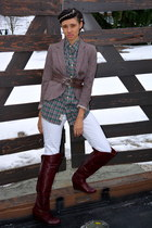 H&M blazer - Ralph Lauren shirt