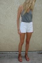 Forever21 shoes - vintage OP shorts