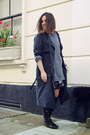 Zara-boots-forever-21-dress-h-m-coat-heather-gray-cos-sweater