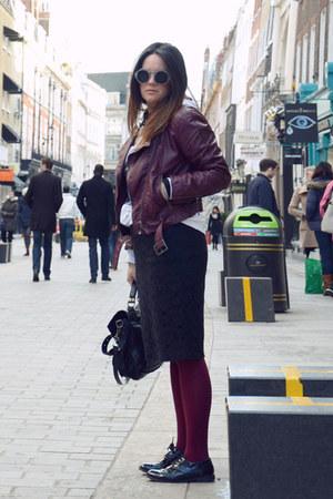 H&M jacket - PROENZA SCHOULER bag - H&M flats