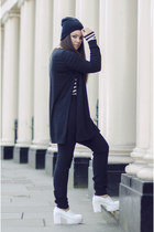 PERSUNMALL shoes - COS sweater - Zara top