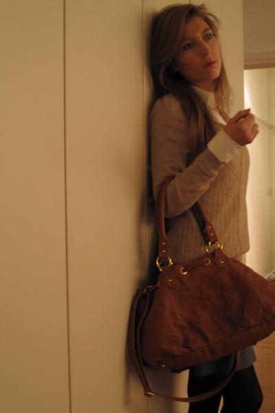 Fornarina skirt - H&M sweater