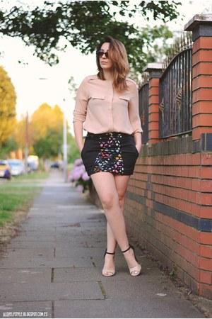 luis blouse - Yesstyle skirt - Anne Michelle heels