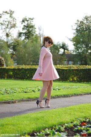 Aldo bag - WalG dress - OASAP necklace - Anne Michelle heels