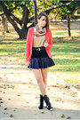 Persunmall-boots-clockhouse-blazer-vjstyle-top-persunmall-skirt
