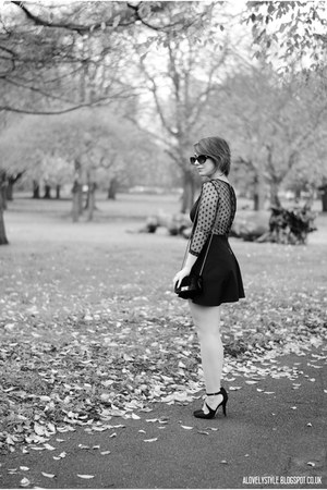 JollyChic bag - JollyChic dress - next heels