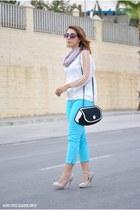 Today Im me bag - Savida pants - OASAP top - Dunnes heels
