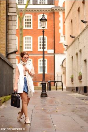 Primark scarf - Primark bag - Chicwish vest - luis blouse - Primark belt