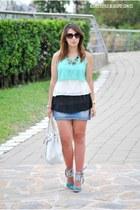 Zanzea blouse - BLANCO bag - Marypaz wedges