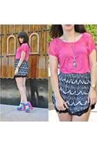 Kiabi skirt - Passarela heels