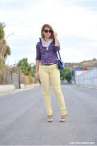 Kiabi pants - amichi bag - Kiabi blouse - dunnes stores heels