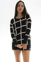 Sommersby plaid sweater