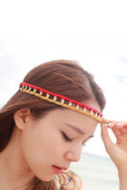Color block stretch headband