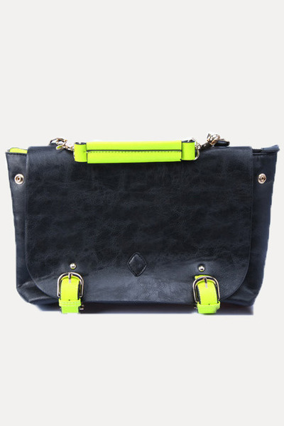 neon satchel lovemartini bag
