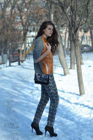 new look boots - new look bag - Marni top