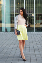 H&M shirt - H&M cardigan - Zara heels