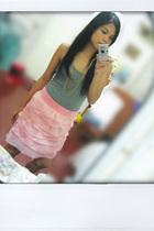 my pink skirt