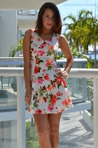 Floral Power Printed Dress