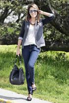 Zara jeans - charcoal gray Walmart jacket - Zara shirt