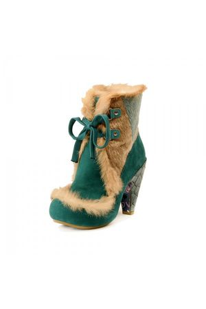 green irregularchoice shoes