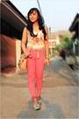 Eggshell-coach-bag-pink-denim-zara-pants